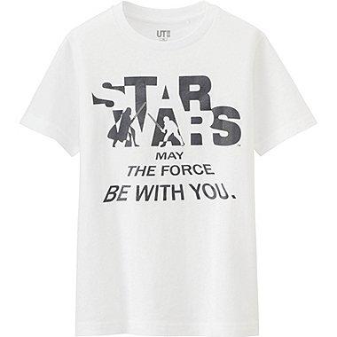 Boys Star Wars Graphic Tee, WHITE, medium