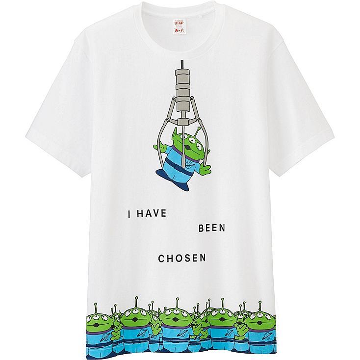 Men UTGP Pixar Graphic T-Shirt, WHITE, large