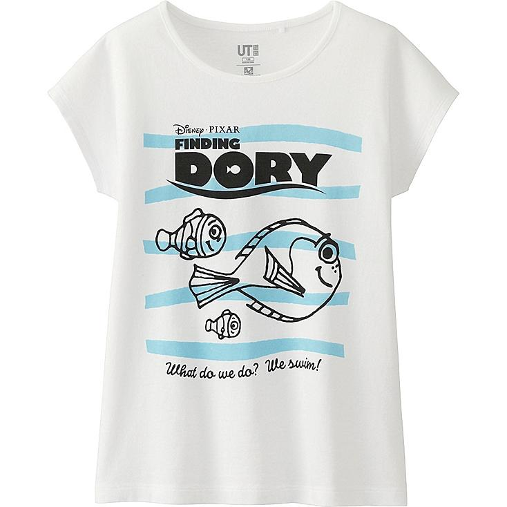 GIRLS PIXAR's Finding Dory Short Sleeve Graphic T-Shirt