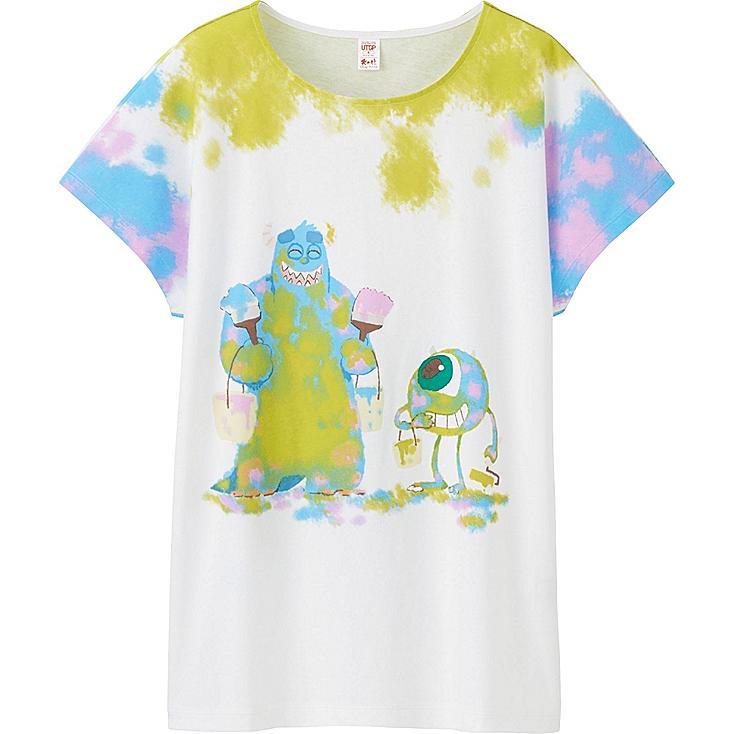 Women UTGP Pixar Graphic T-Shirt, WHITE, large