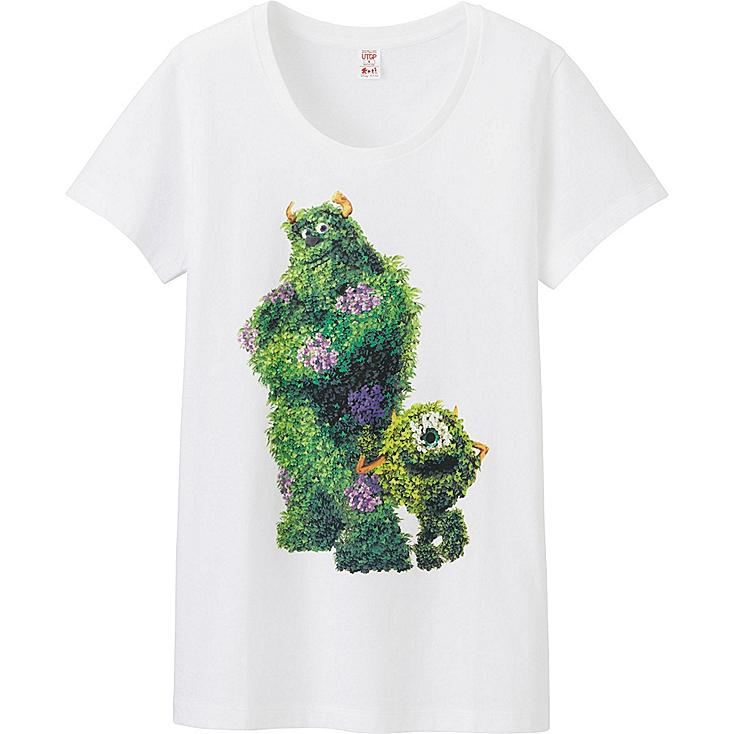 Women UTGP Pixar Graphic T-Shirt, WHITE, large