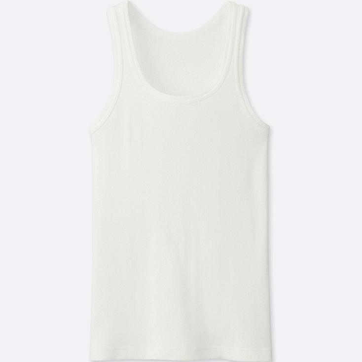 MEN Packaged Dry Colour Rib Tank Top
