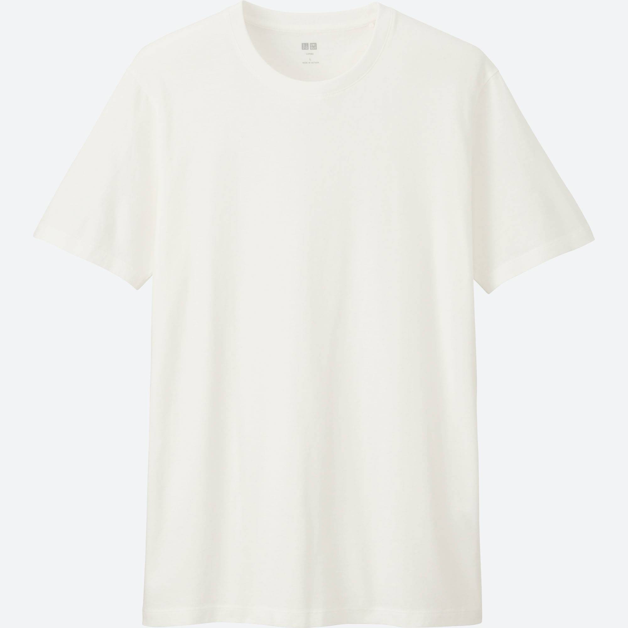 Men Supima® Cotton Crew Neck T-Shirt | UNIQLO US