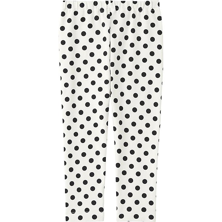 Toddler Leggings, WHITE, large