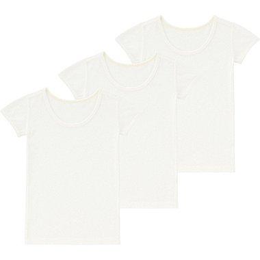 TODDLER MESH INNER SHORT-SLEEVE T-SHIRT 3-PACK, WHITE, medium