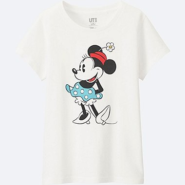 GIRLS DISNEY COLLECTION SHORT SLEEVE GRAPHIC T-Shirt, WHITE, medium