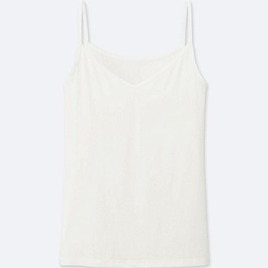 WOMEN AIRism CAMISOLE, WHITE, medium