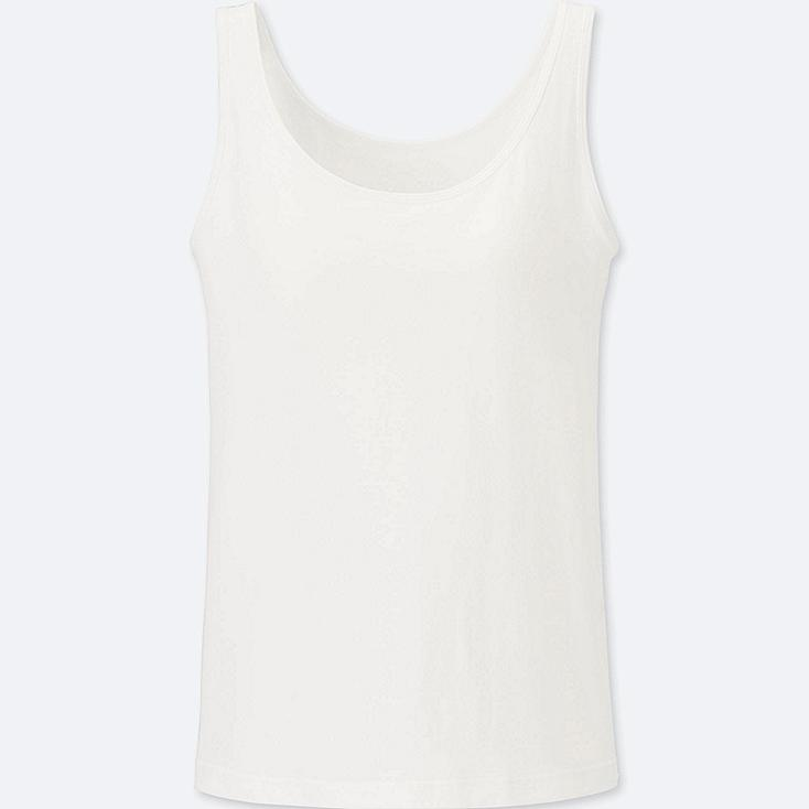 WOMEN Supima Cotton Bra Sleeveless Top