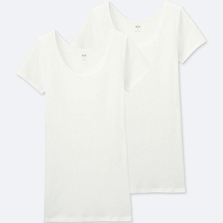 Camiseta manga corta de algodón SUPIMA  MUJER