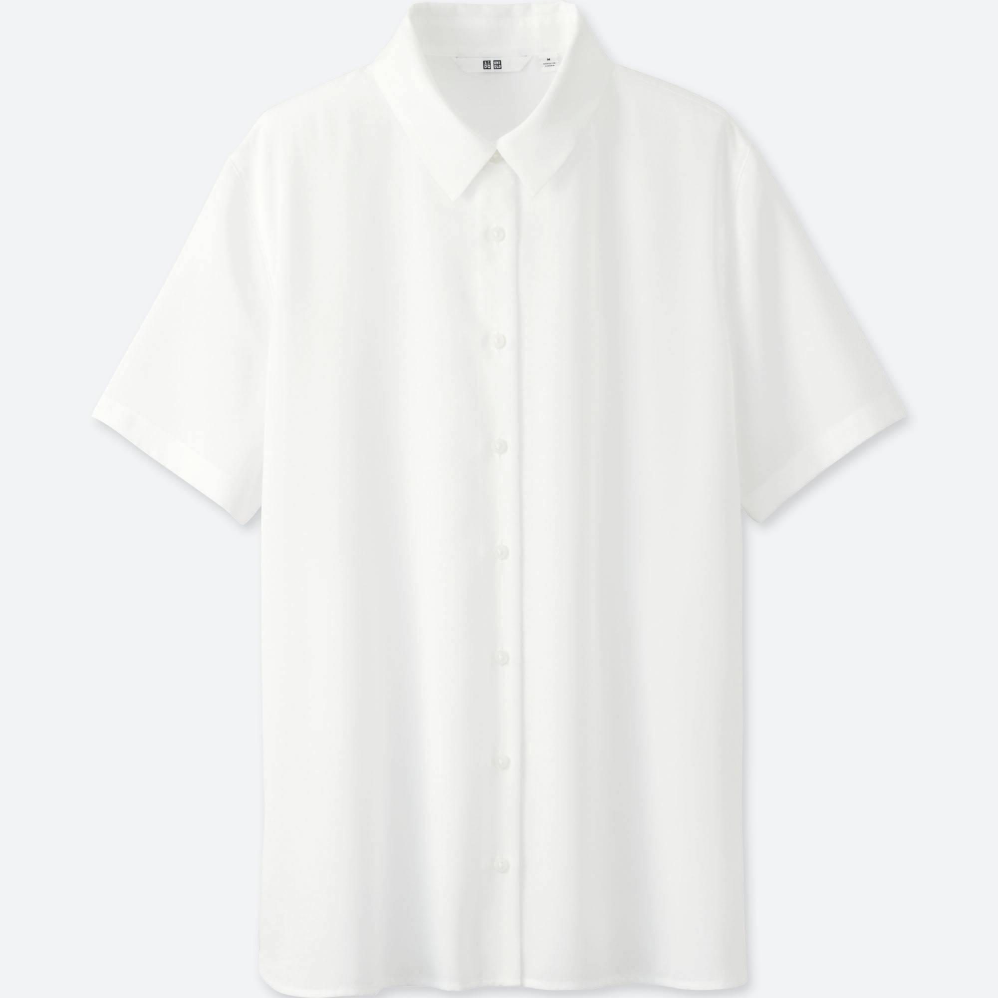WOMEN RAYON SHORT SLEEVE BLOUSE | UNIQLO US