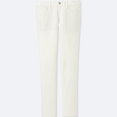 MEN SKINNY FIT TAPERED COLOR JEANS, WHITE, medium