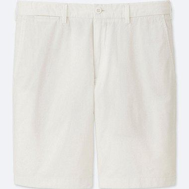 MEN CHINO SHORTS, WHITE, medium