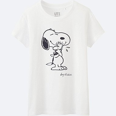 T-Shirt Snoopy Manches Courtes FEMME