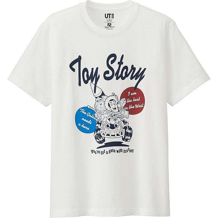 MEN PIXAR Collection Short Sleeve Graphic T-Shirt