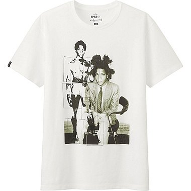 MEN SPRZ NY BASQUIAT SHORT SLEEVE GRAPHIC T-SHIRT, WHITE, medium
