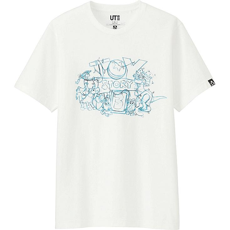 MEN PIXART COLLECTION SHORT SLEEVE GRAPHIC T-SHIRT, WHITE, large