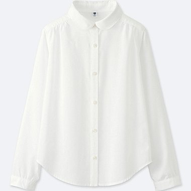 GIRLS Easy Care Rayon Blouse
