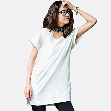 WOMEN V-Neck Short Sleeve T-Shirt