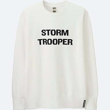 MEN STAR WARS GRAPHIC SWEATSHIRT, WHITE, medium