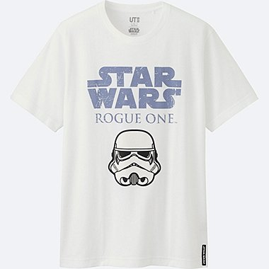 MEN STAR WARS SHORT SLEEVE GRAPHIC T-SHIRT, WHITE, medium