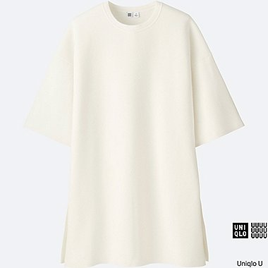 WOMEN Uniqlo U Milano Ribbed Crew Neck Tunic