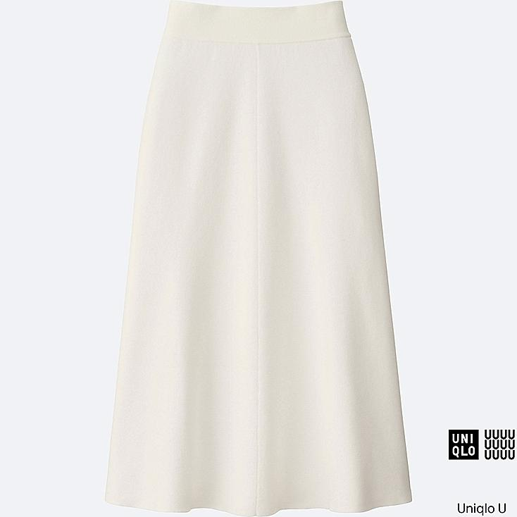 WOMEN Uniqlo U Milano Ribbed Aline Skirt