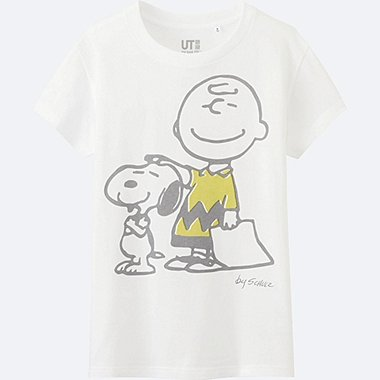 WOMEN PEANUTS SHORT SLEEVE GRAPHIC T-SHIRT, WHITE, medium