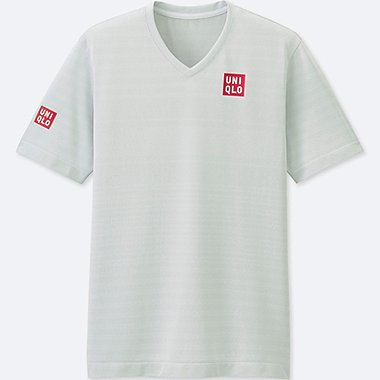 MEN NK DRY-EX SHORT-SLEEVE T-SHIRT, WHITE, medium
