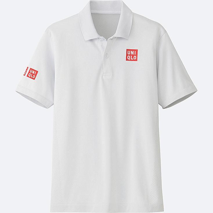 MEN Kei Nishikori Dry-EX Short Sleeve Polo Shirt 17Aus