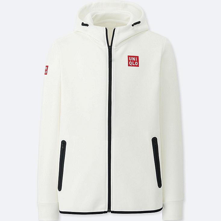 MEN Kei Nishikori Dry Stretch Sweat Full-Zip Hoodie