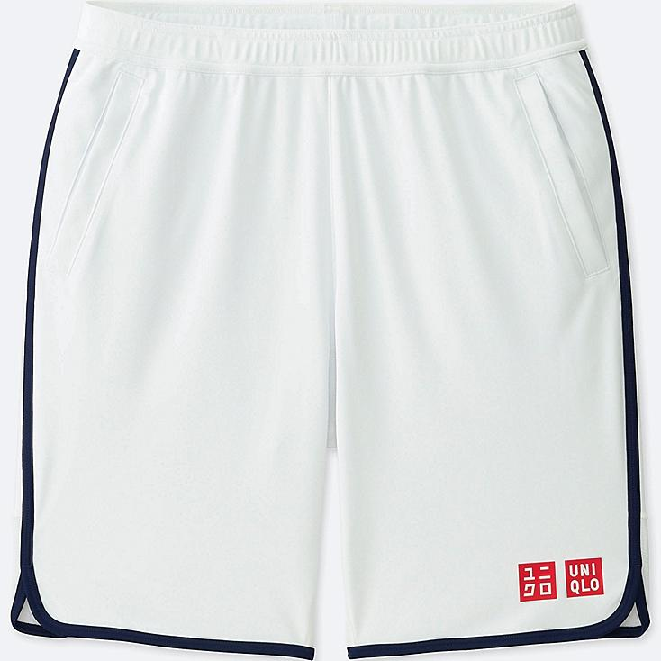 MEN NK DRY SHORTS, WHITE, large