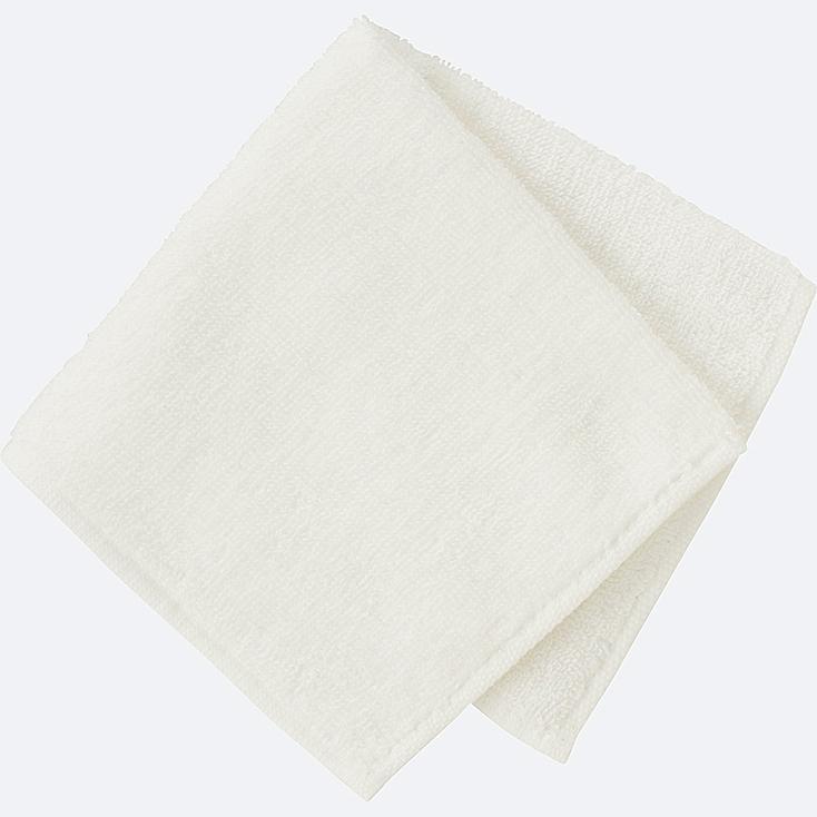 MINI TOWEL, WHITE, large