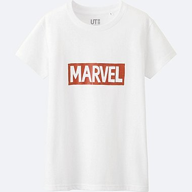 WOMEN MARVEL Collection Short Sleeve Graphic T-Shirt