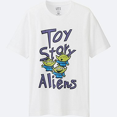 MEN Disney/PIXAR Collection GRAPHIC T-SHIRT, WHITE, medium