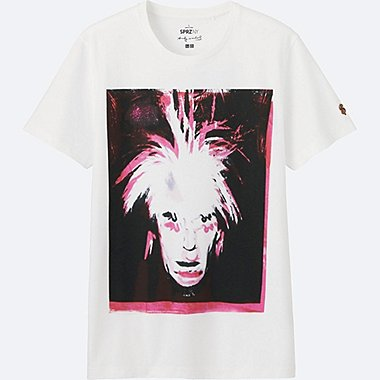 MEN SPRZ NY SHORT SLEEVE GRAPHIC T-SHIRT (ANDY WARHOL), WHITE, medium