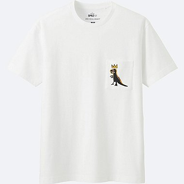MEN SPRZ NY SHORT-SLEEVE GRAPHIC T-SHIRT (JEAN-MICHEL BASQUIAT), WHITE, medium