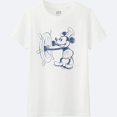WOMEN Disney Collection Short Sleeve Graphic T-Shirt