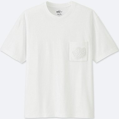 MEN SPRZ NY SHORT SLEEVE GRAPHIC T-SHIRT (KEITH HARING), WHITE, medium