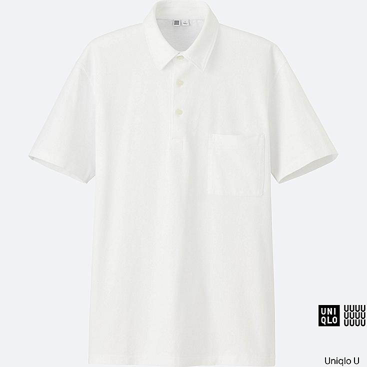 MEN Uniqlo U Oversized Short Sleeve Polo Shirt