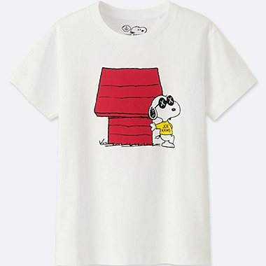 T-Shirt Manches Courtes KAWS X PEANUTS ENFANT
