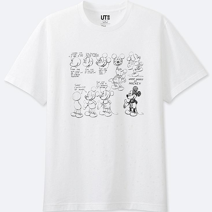 MEN Reflective Print (DISNEY) Graphic T-Shirt