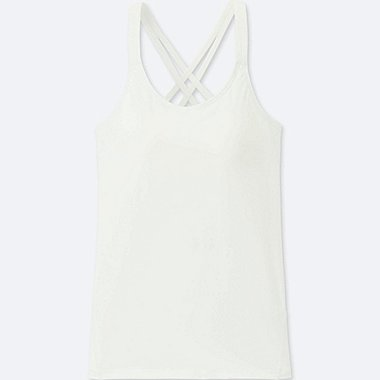 WOMEN AIRism Crossback Bra Sleeveless Top