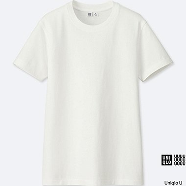 WOMEN Uniqlo U Crew Neck Short Sleeve T-Shirt