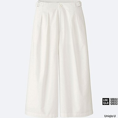 WOMEN Uniqlo U Oxford Culottes Trousers
