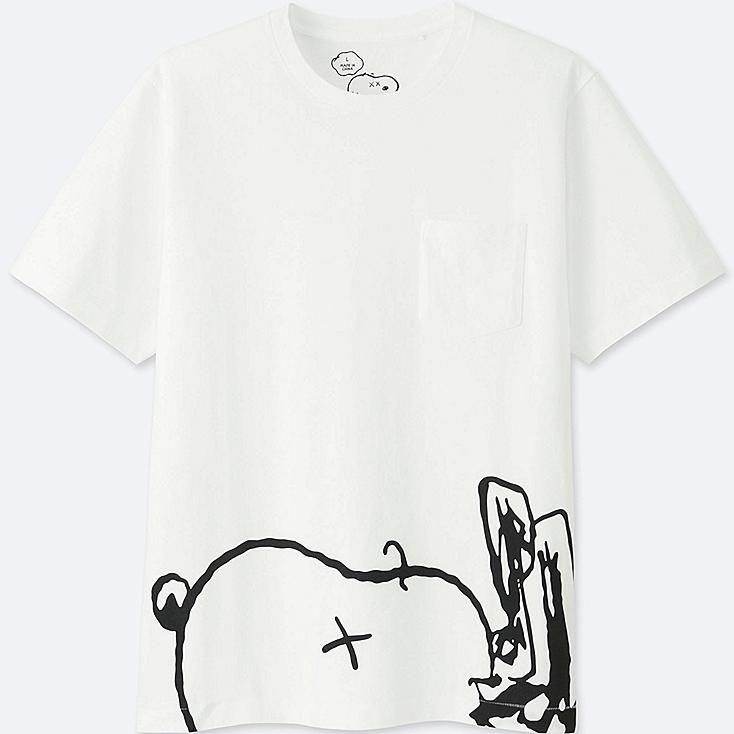T-Shirt Graphique KAWS X SNOOPY