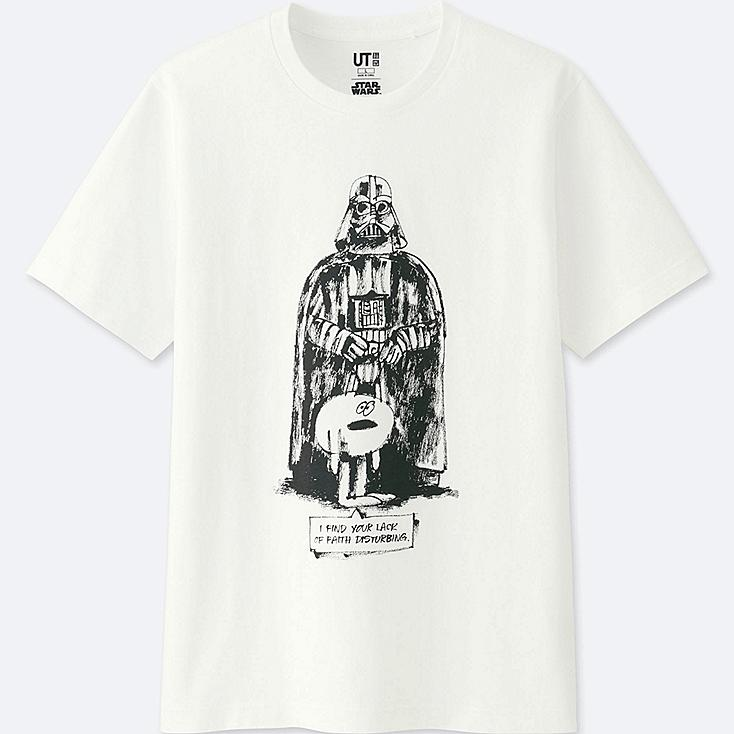 T-Shirt STAR WARS 40ème ANNIVERSAIRE (James Jarvis)
