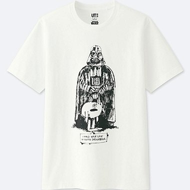MEN STAR WARS | ARTIST COLLECTION GRAPHIC T-SHIRT (JAMES JARVIS), WHITE, medium
