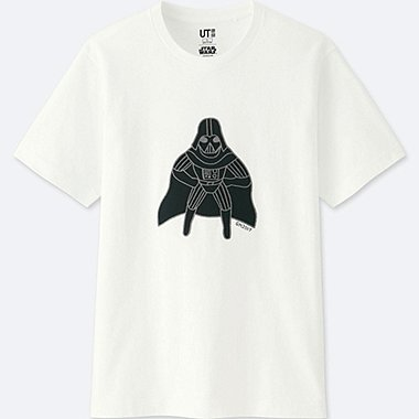 MEN STAR WARS | ARTIST COLLECTION GRAPHIC T-SHIRT (GEOFF MCFETRIDGE), WHITE, medium