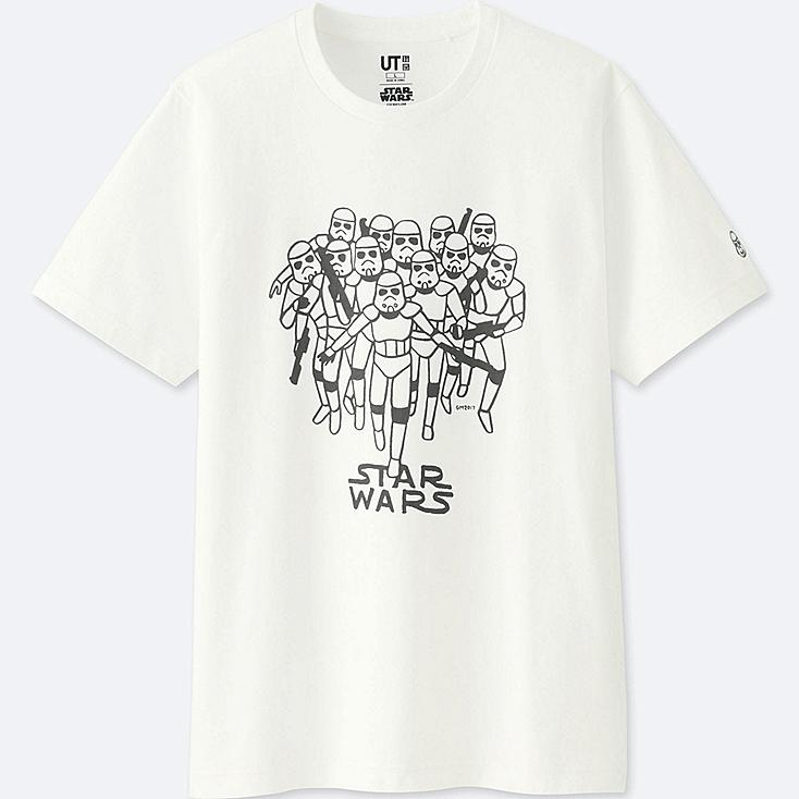 MEN STAR WARS | ARTIST COLLECTION GRAPHIC T-SHIRT (GEOFF McFETRIDGE), WHITE, large