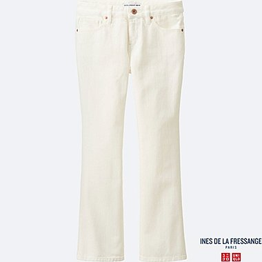 WOMEN INES Ankle Length Flare Jeans